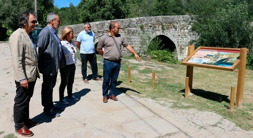 Gobierno gallego acomete regeneración río Tea, Mondariz