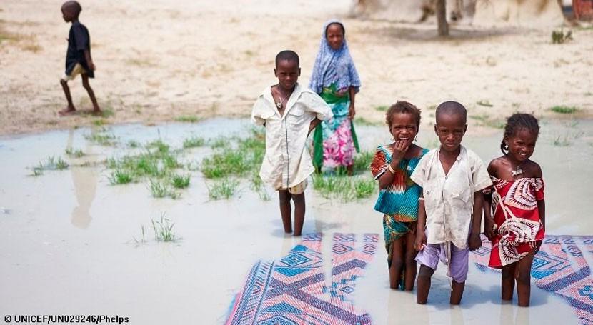 5,6 millones niños, riesgo contraer enfermedades transmitidas agua Lago Chad