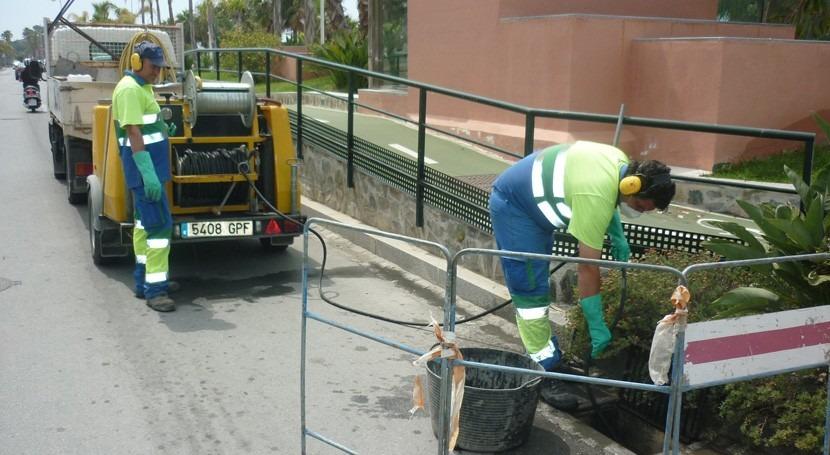 Extraen más 133.000 litros residuos alcantarillas 15 municipios granadinos