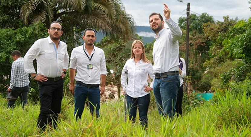 Gobierno colombiano trabaja restablecimiento agua potable Mocoa
