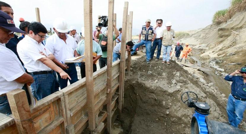 servicio agua potable se restablece progresivamente Trujillo, Perú