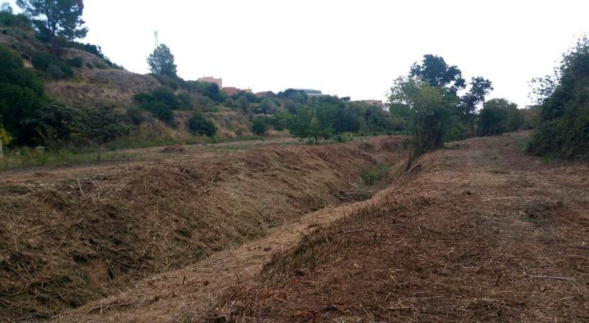 Cataluña mejora cauce tramo más kilómetro torrente cuenca Gaià