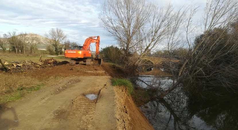 Finalizadas 50 actuaciones conservación cauces cuenca río Ter