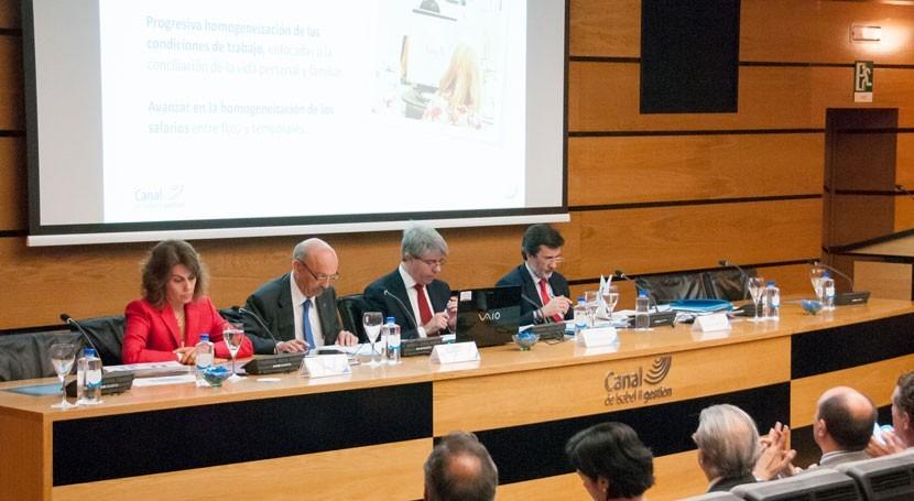 Canal Isabel II Gestión aumentó beneficio 2,8% 2015