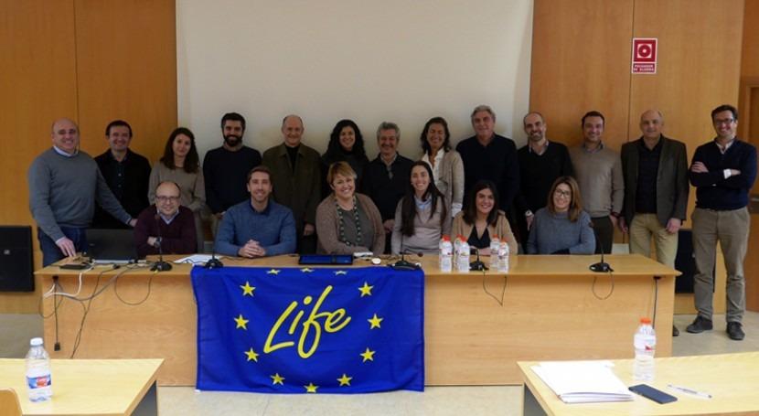 LIFE CERSUDS reúne más 20 expertos trabajar Sistemas Drenaje Sostenible