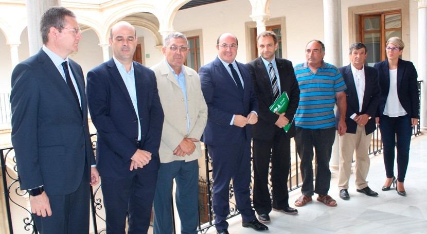 Murcia hace llamamiento defender pacto agua