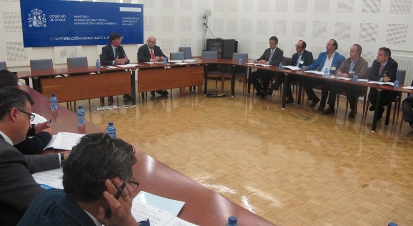 ayuntamientos cuenca Duero se reúnen marco Pacto Nacional Agua