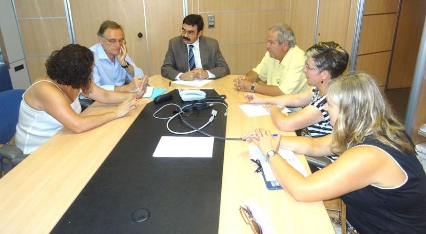 CHE se reúne Asociación Empresarios Ribagorza situación embalse