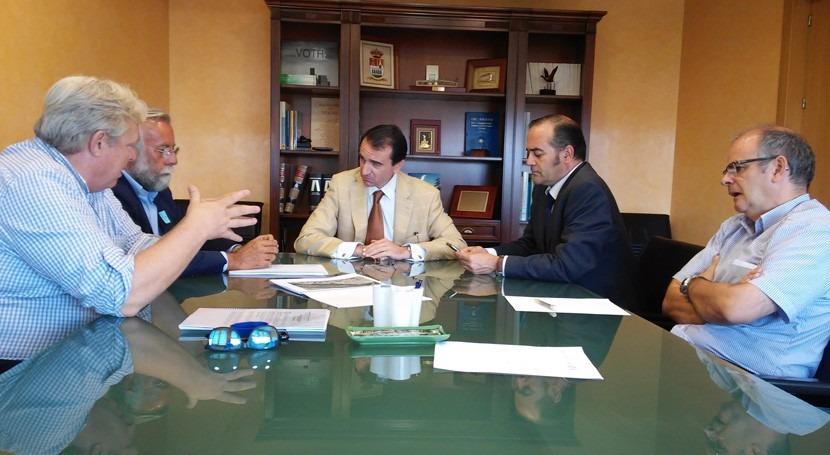 CHT recibe Decálogo Proyectos Talavera Reina ríos Tajo y Alberche