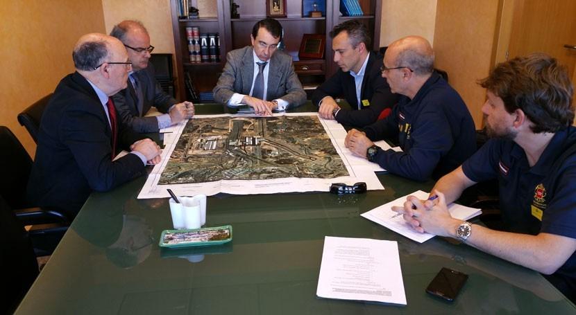 Confederación Tajo trata reunión mejora prevención incendios Madrid