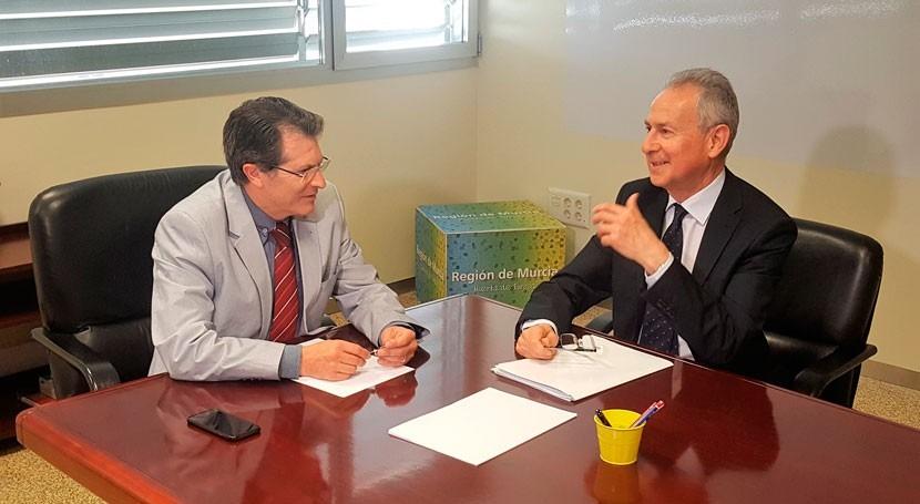 Gobierno Murcia lleva problemas escasez hídrica regantes CHS