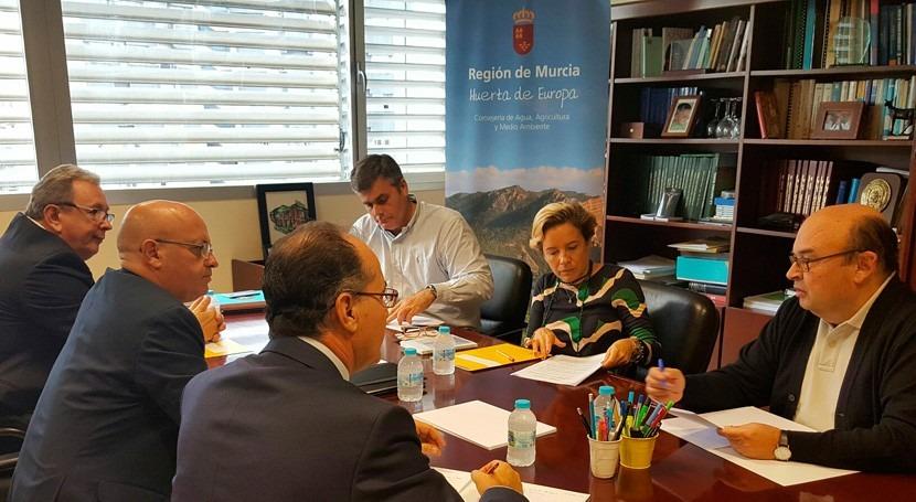 Murcia busca frente común elevar propuestas al Pacto Nacional Agua