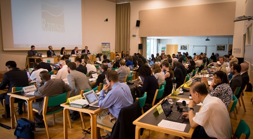 50 países asisten 53ª reunión Comité Permanente Convención Ramsar