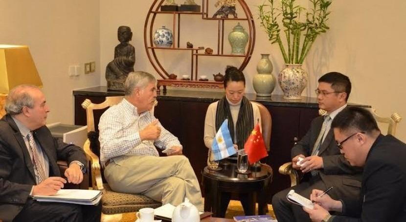 Reunión del Ministro De Vido con ejecutivos chinos
