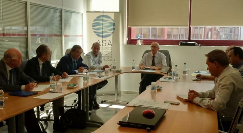 sede ASA-Andalucía acoge primera reunión nuevo Comité Ejecutivo