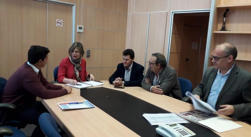 Reunión analizar situación reservas sistema Bardenas