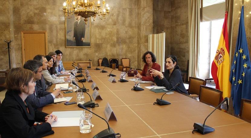 María García Rodríguez se reúne representantes iniciativa Comunidad #PorElClima