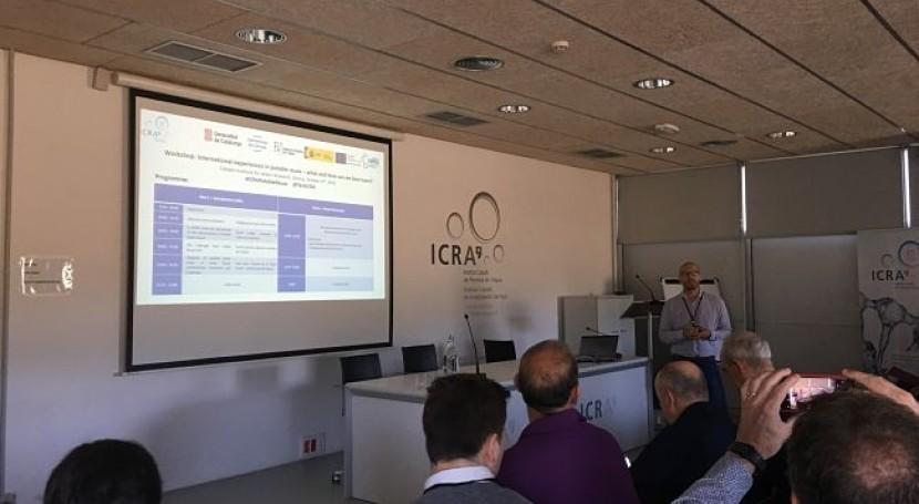ICRA Workshop: Experiencias internacionales reutilización potable