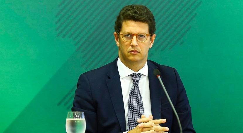 Dimite Ricardo Salles, ministro Medio Ambiente Brasil