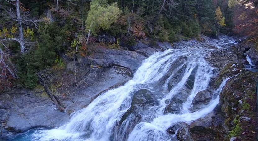 Conoce río Arazas Camino Turieto Huesca, perteneciente cuenca Ebro