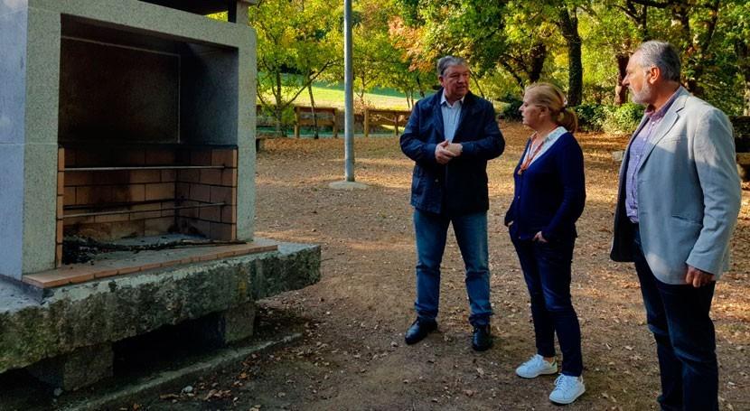 Finalizadas obras puesta valor río Arnego parroquia Carmoega, Agolada