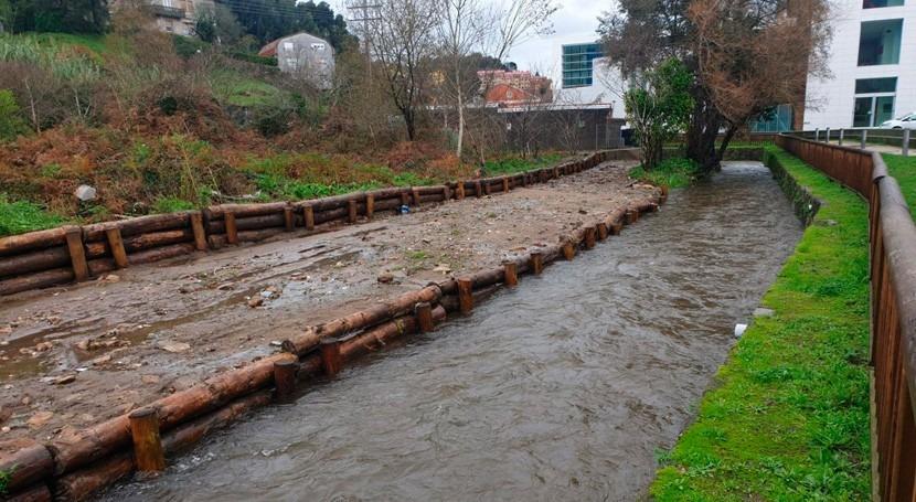 Xunta y Ayuntamiento Marín mejorarán saneamiento río Lameira 3,6 millones