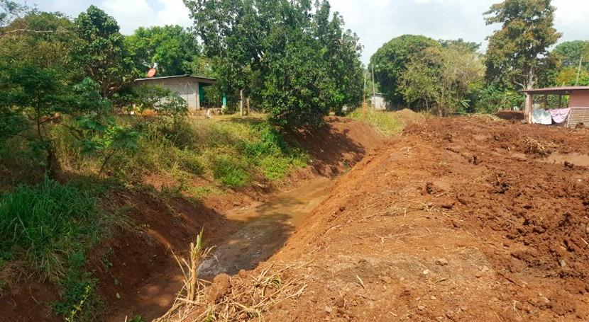 Panamá inicia dragado río Martín Sánchez Chorrera riesgo inundaciones