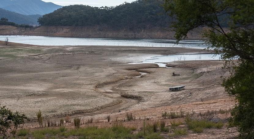 estudio, ríos, lagos y embalses emiten gran cantidad CO2 atmósfera al secarse