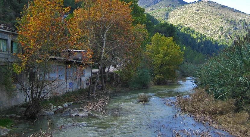 Autorizado sondeo investigación-preexplotación sequía río Serpis Valencia