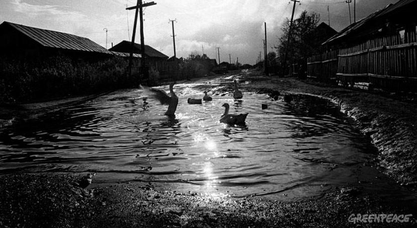 """río ruso Techa sigue contaminándose sustancias radiactivas 70 años después """"Mayak"""""""