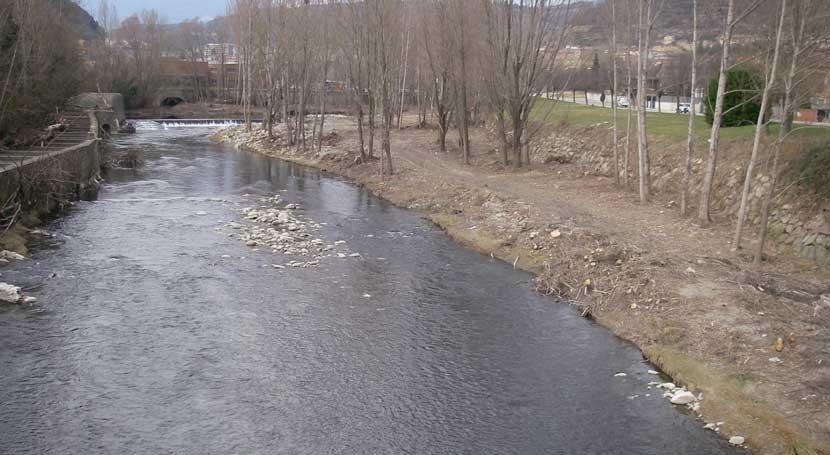 Finalizadas casi 100 actuaciones adecuación tramos fluviales aguaceros Girona