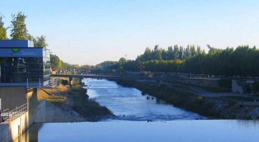 río Bernesga recupera caudal habitual
