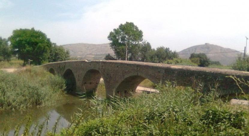 Río Daró a su paso por Gualta