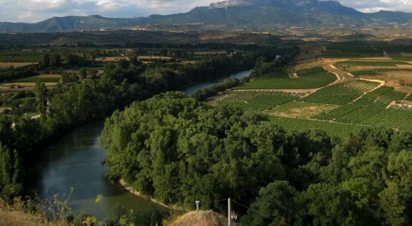 Gobierno riojano repara motas defensa diversos tramos Ebro dañados crecida