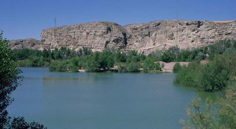 marcha segunda fase inyección sedimentos río Ebro