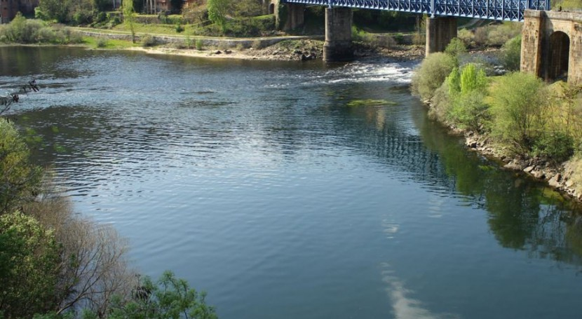Se mejora capacidad drenaje natural río Sil Toral Merayo
