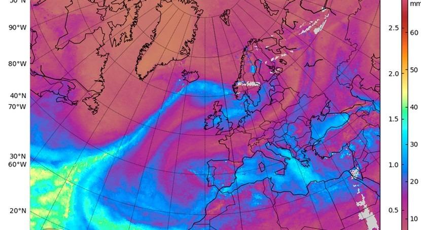 Ríos atmosféricos, autopistas aéreas que regulan clima