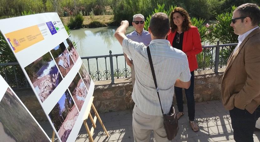 CHS construye Archena última escala peces proyecto Life+ Segura Riverlink