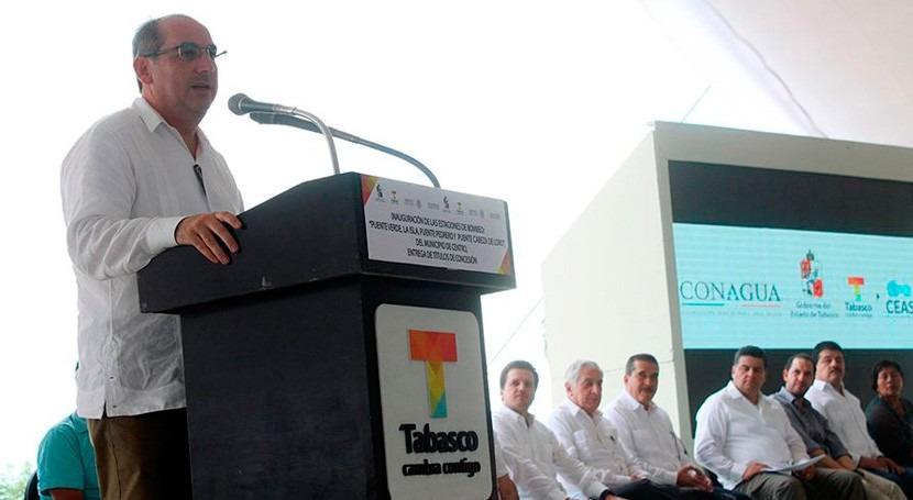 México fortalece estrategia reducir riesgos inundación Tabasco