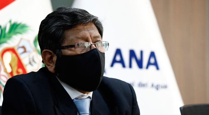 Roberto Salazar Gonzales, designado como jefe Autoridad Nacional Agua Perú