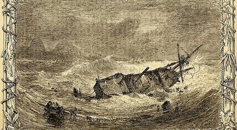 literatura y mar XIII. Robinson Crusoe, Daniel Defoe