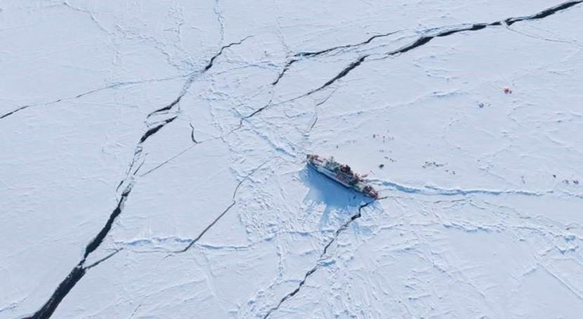 hielo marino Ártico puede estar adelgazando dos veces más rápido lo esperado