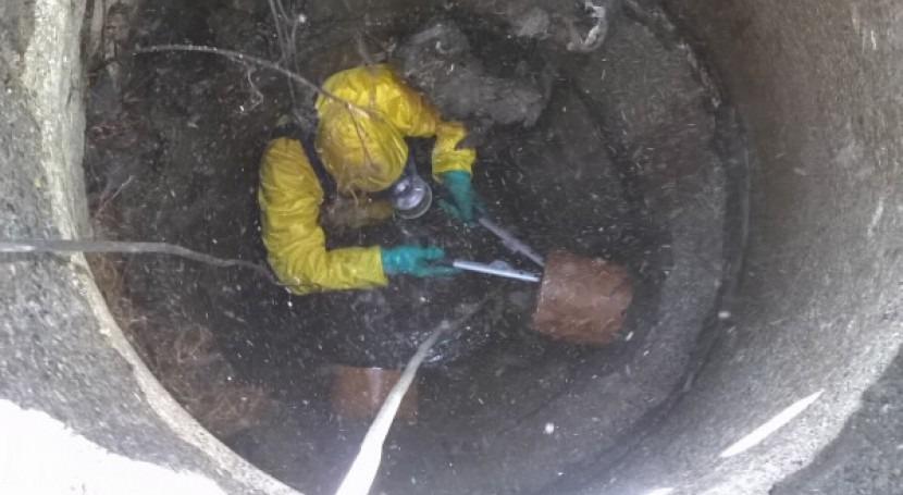 Aqualia pone marcha Plan Choque limpieza imbornales Ronda