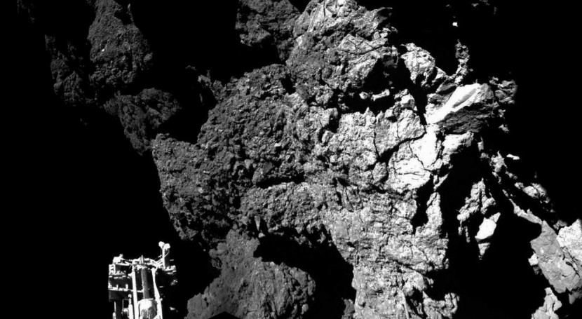 Imagen de la nave Rosetta de la ESA.