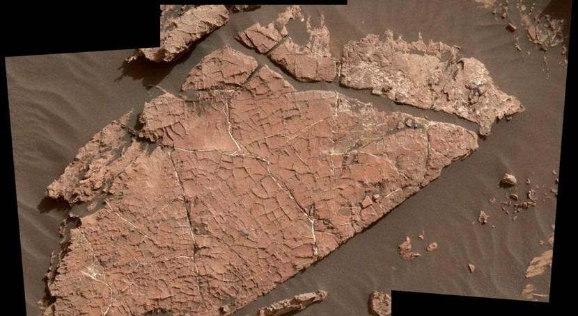 Descubierto antiguo oasis Marte través rover Curiosity NASA