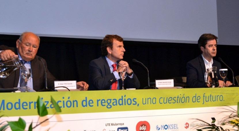 Saavedra apela al apoyo usuarios culminar 2º ciclo planificación hidrológica