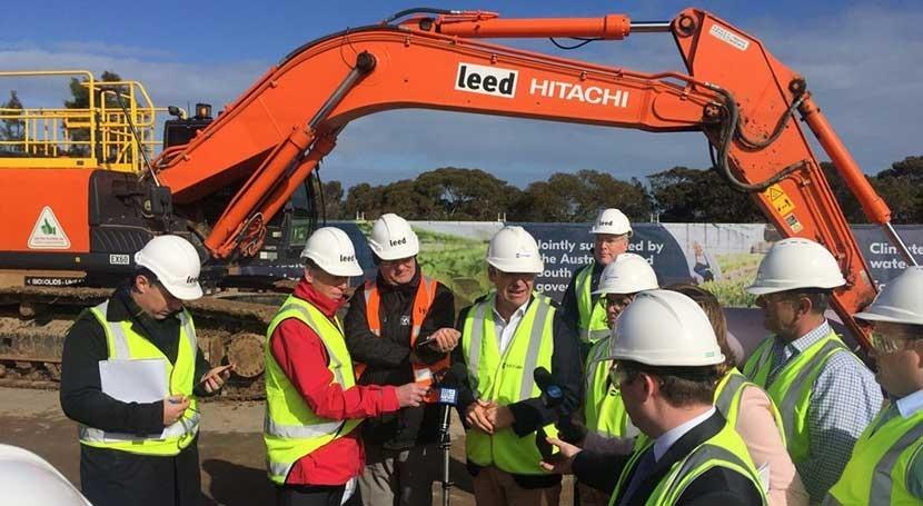 Sacyr da primeros pasos construcción Plan Riego Australia