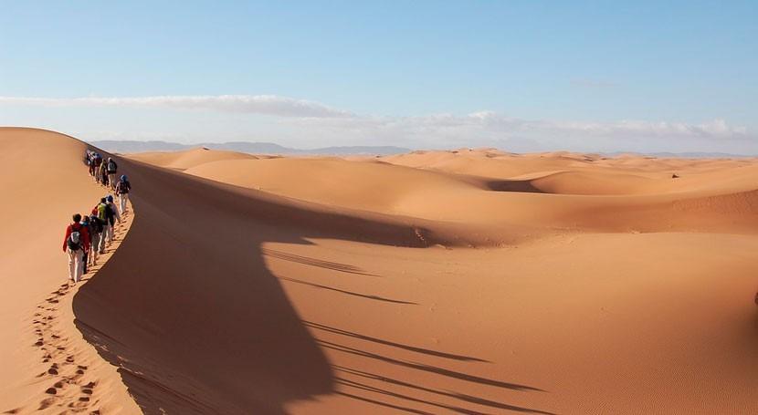 ¿Cómo influyó ser humano creación Desierto Sáhara?