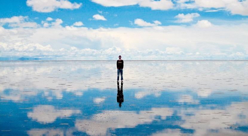 salar Uyuni, espejo mundo