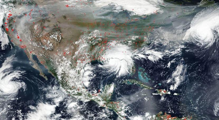 huracán Sally podría causar inundaciones catastróficas y mortales sur Estados Unidos